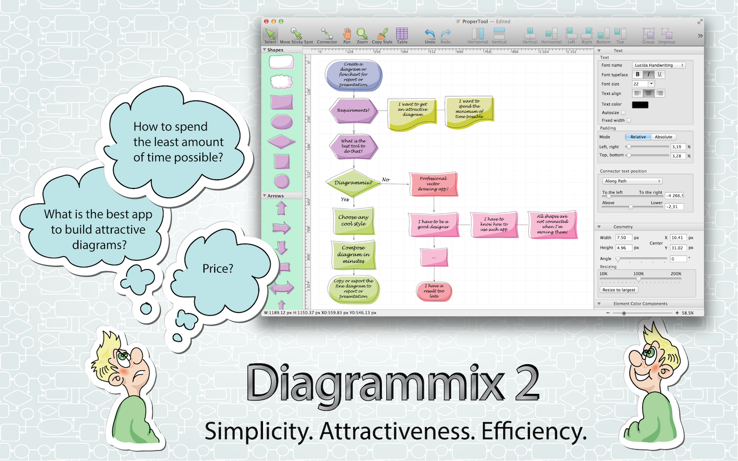 Diagramming and flow chart app for mac like visio ccuart Images